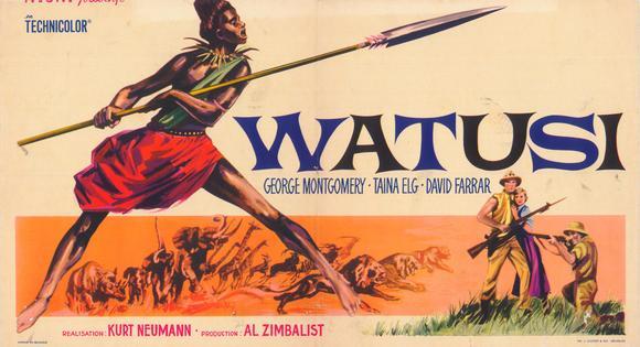 WATUSI(1959) FILM POSTER 3