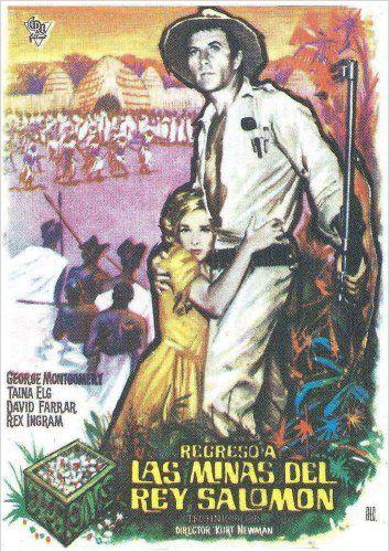 WATUSI(1959) FILM POSTER 6