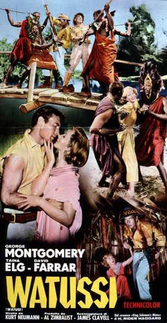 WATUSI(1959) FILM POSTER 7