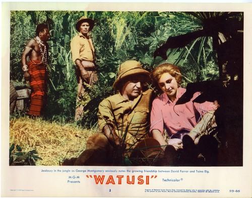 WATUSI(1959) LOBBY CARD 1