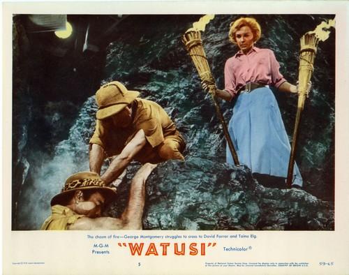 WATUSI(1959) LOBBY CARD 2