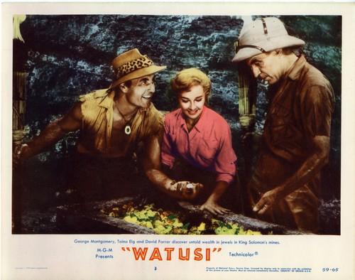 WATUSI(1959) LOBBY CARD 3