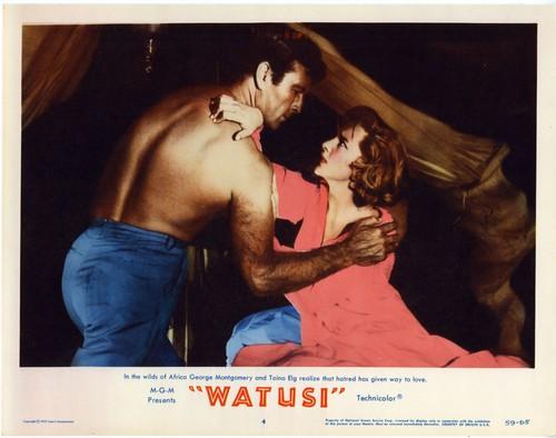 WATUSI(1959) LOBBY CARD 4