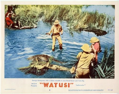 WATUSI(1959) LOBBY CARD 5