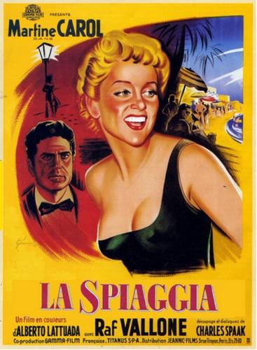 la-spiaggia1954-film-poster-1