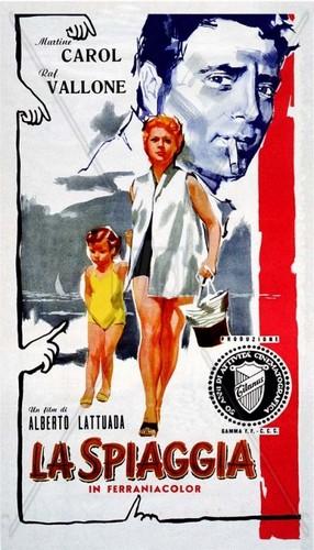 la-spiaggia1954-film-poster-2