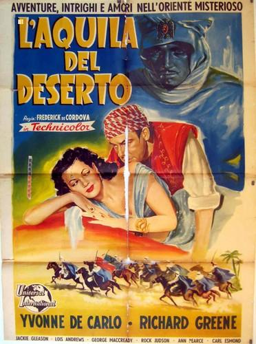 the-desert-hawk1950-film-poster-11