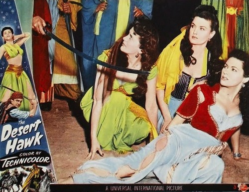 the-desert-hawk1950-lobby-card-2